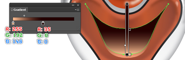 How to Create a Clown Face in Adobe Illustrator 62