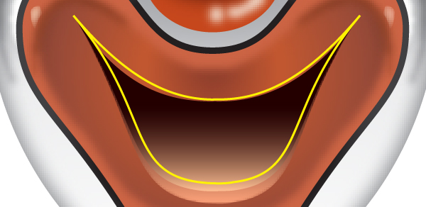 How to Create a Clown Face in Adobe Illustrator 63