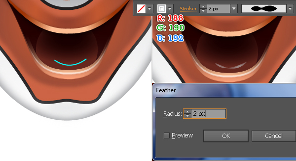 How to Create a Clown Face in Adobe Illustrator 69