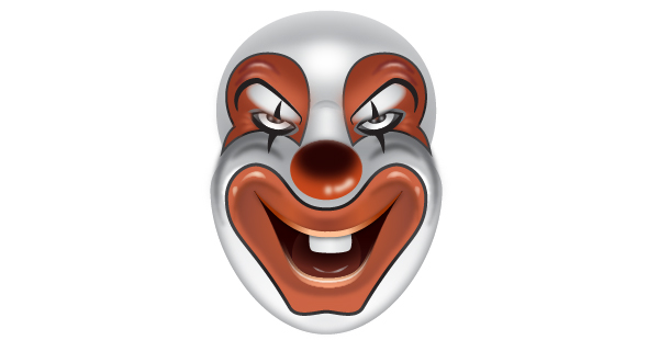 How to Create a Clown Face in Adobe Illustrator 72