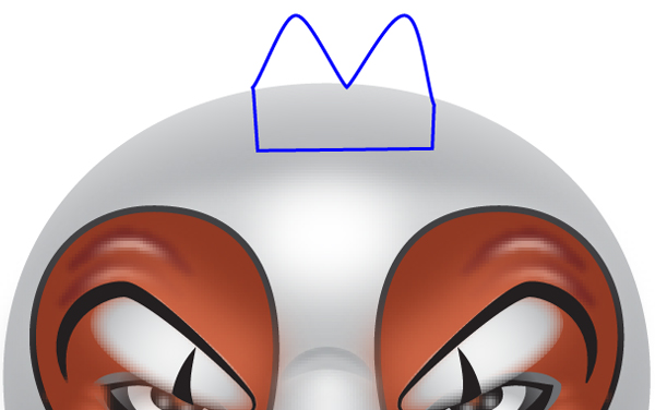How to Create a Clown Face in Adobe Illustrator 73