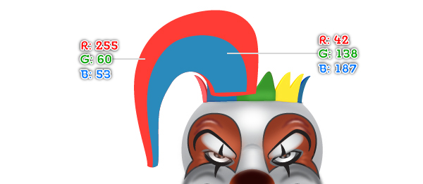 How to Create a Clown Face in Adobe Illustrator 87