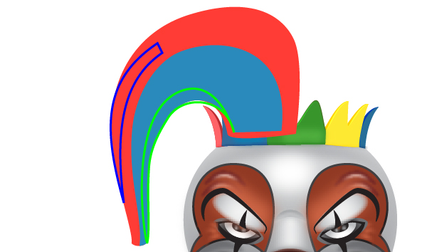 How to Create a Clown Face in Adobe Illustrator 88