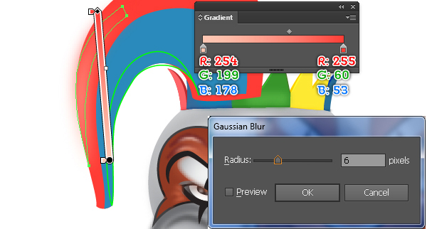 How to Create a Clown Face in Adobe Illustrator 89