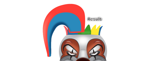 How to Create a Clown Face in Adobe Illustrator 92