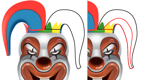 How to Create a Clown Face in Adobe Illustrator 2