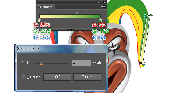 How to Create a Clown Face in Adobe Illustrator 98