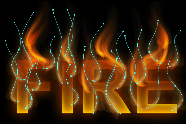 How to create fire text effect in 10 minutes in Illustrator 15