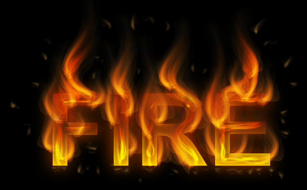 How to create fire text effect in 10 minutes in Illustrator 21
