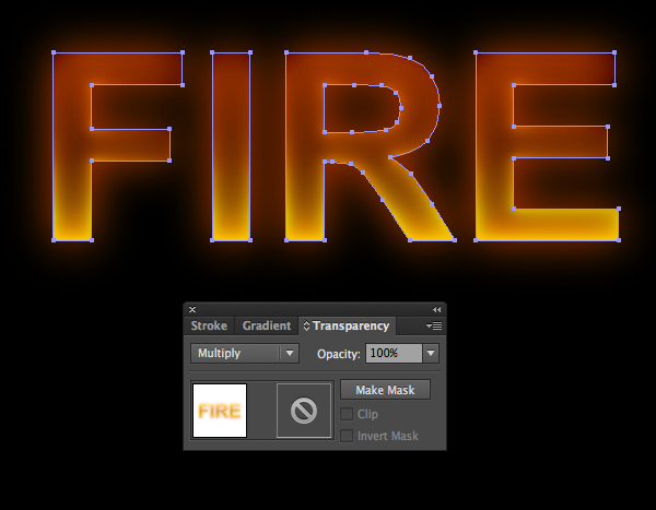 how to create fire text in photoshop or illustrator