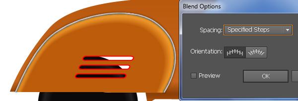 How to Create a realistic Vespa in Adobe Illustrator 1