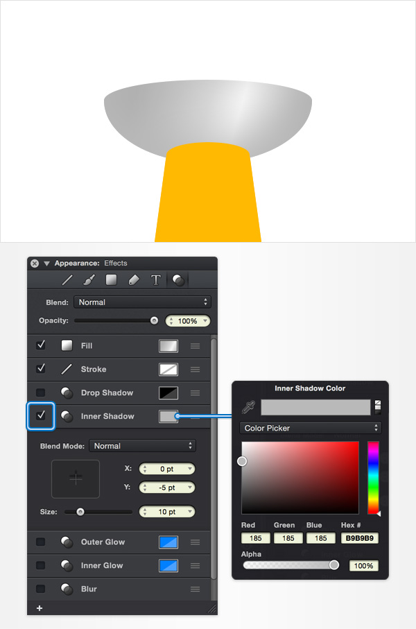 How to Create a Pin Icon in iDraw for Mac 15