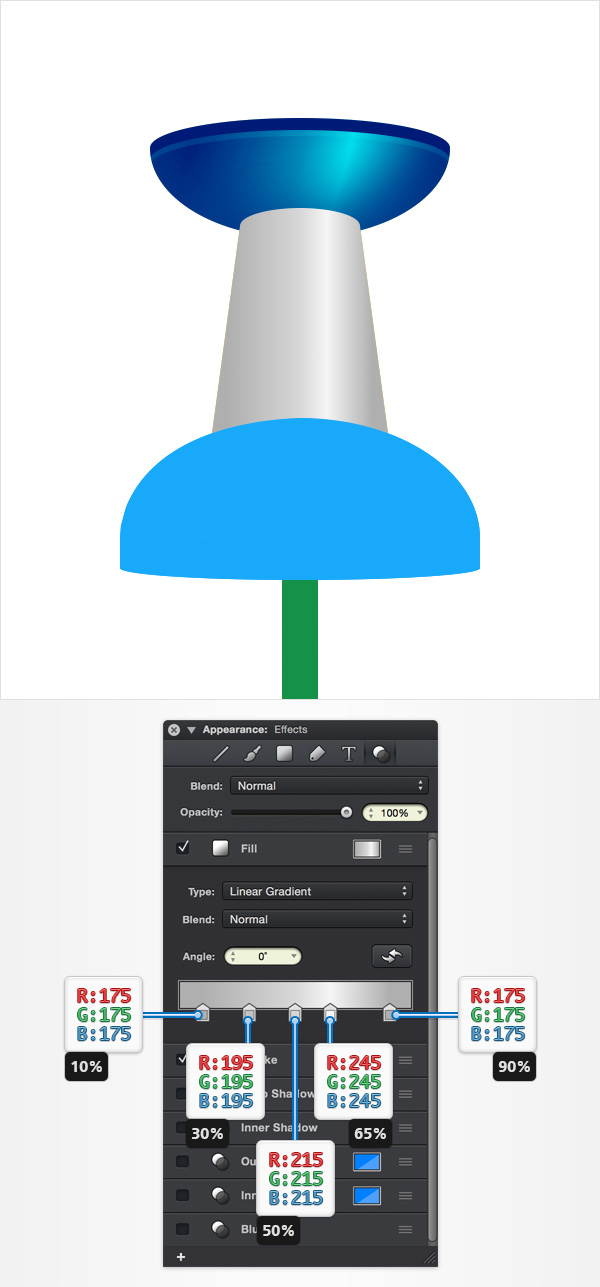 How to Create a Pin Icon in iDraw for Mac 19