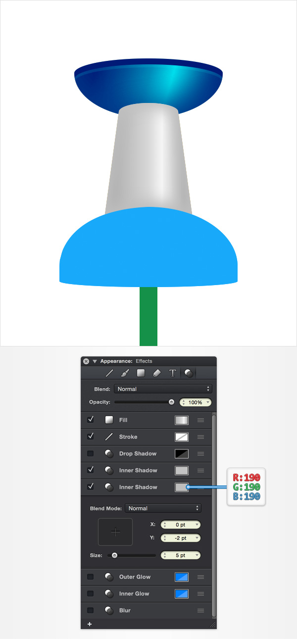 How to Create a Pin Icon in iDraw for Mac 21