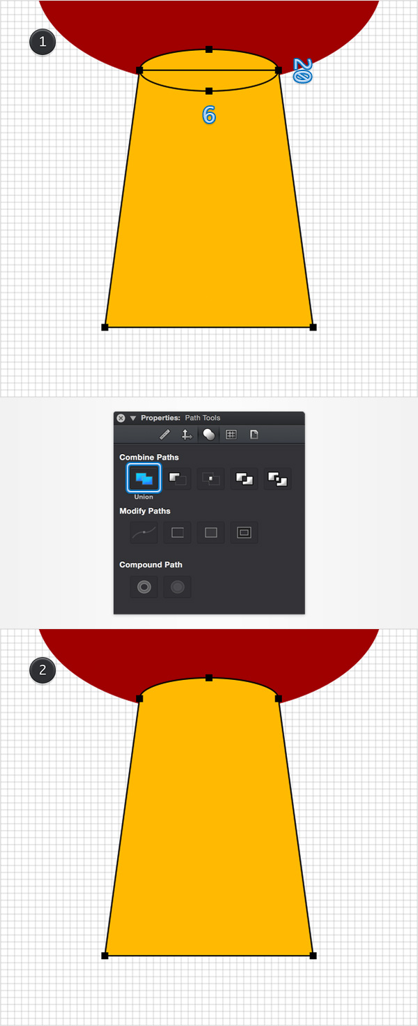 How to Create a Pin Icon in iDraw for Mac 6