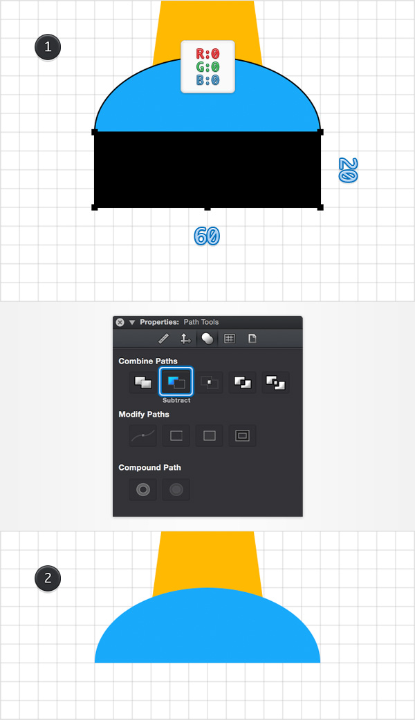 How to Create a Pin Icon in iDraw for Mac 8