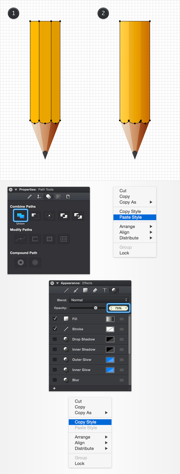 How to Create a Pencil Illustration in iDraw for Mac 15