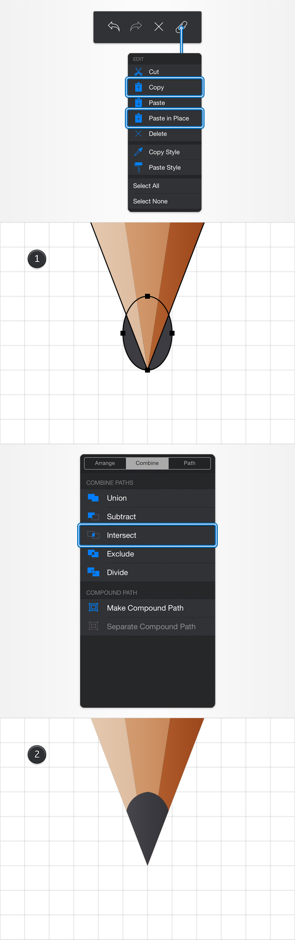 How to Create a Pencil Illustration in iDraw for iPad 8