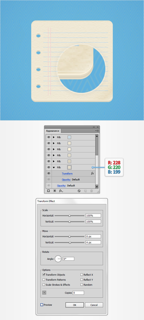 How to Create a Notes Icon in Adobe Illustrator 15