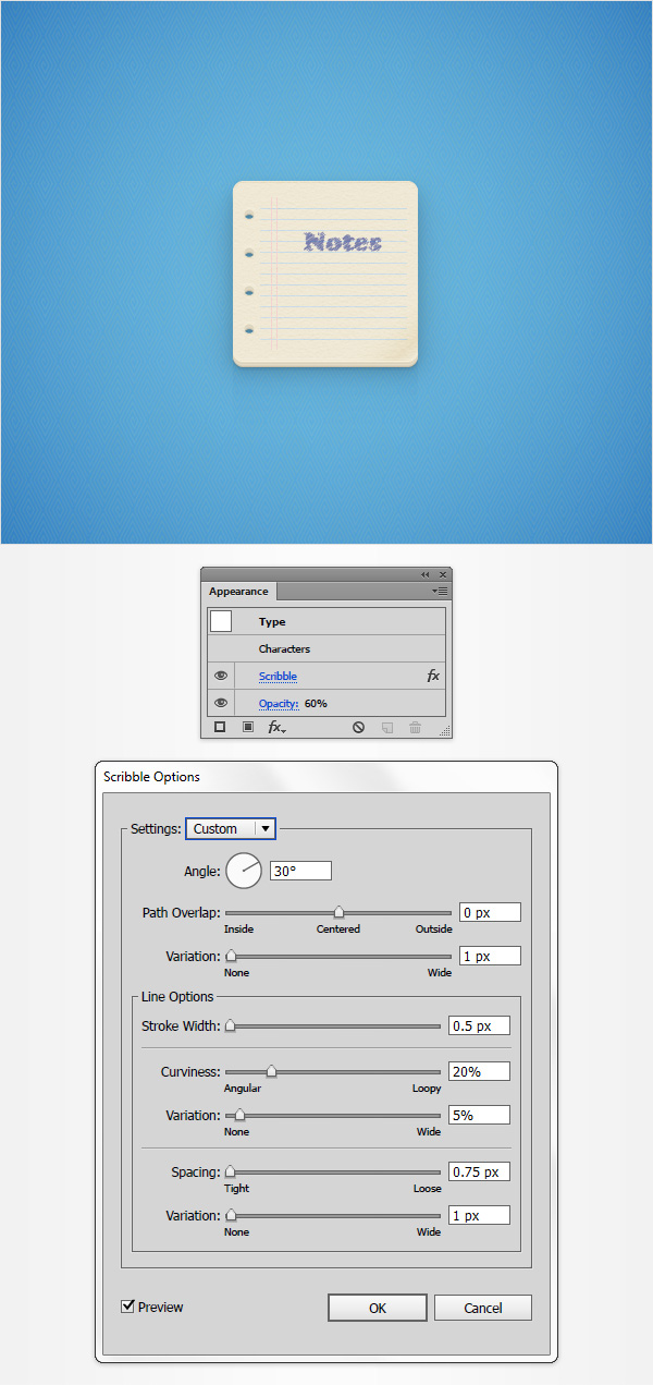 How to Create a Notes Icon in Adobe Illustrator 25