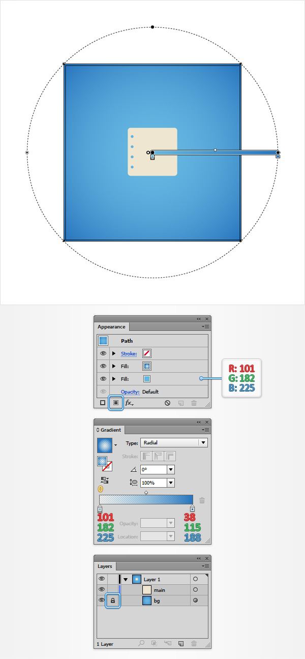 How to Create a Notes Icon in Adobe Illustrator 5
