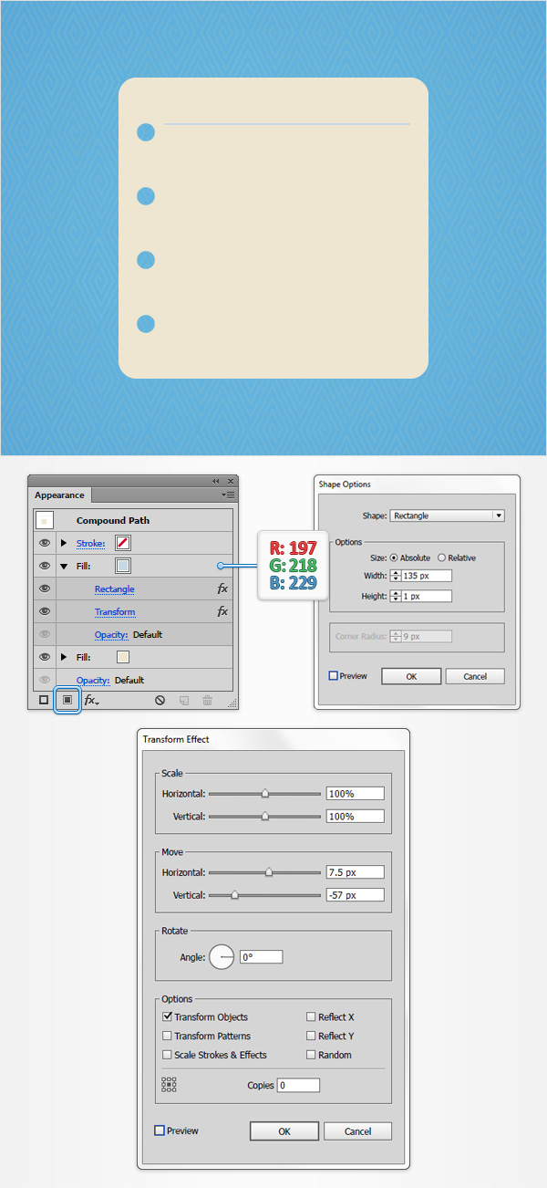How to Create a Notes Icon in Adobe Illustrator 6