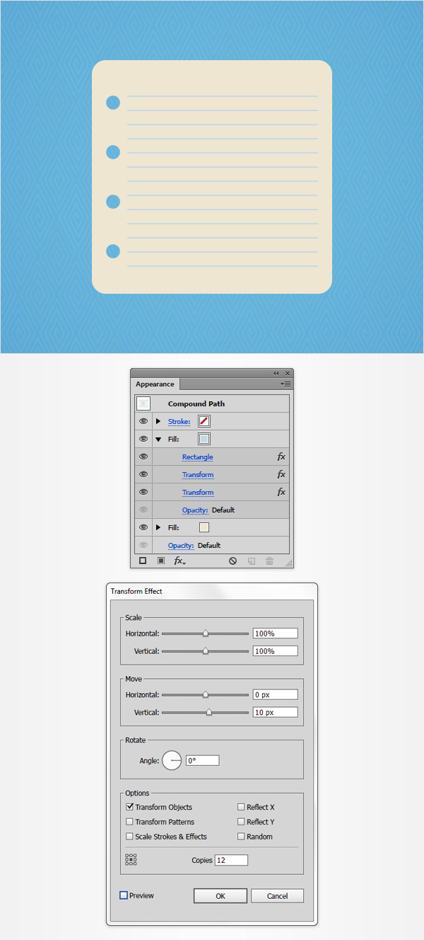 How to Create a Notes Icon in Adobe Illustrator 7