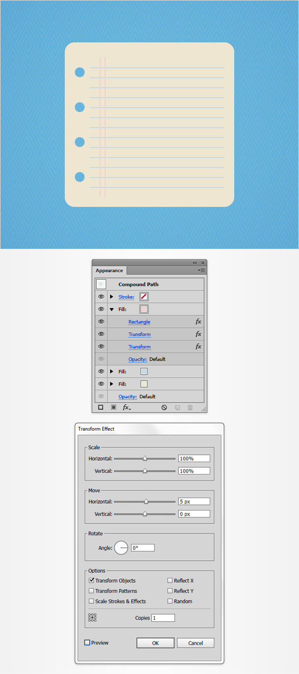 How to Create a Notes Icon in Adobe Illustrator 9