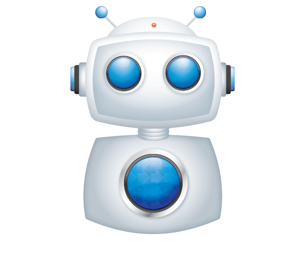 Create a Cool Robot Character in Illustrator 44