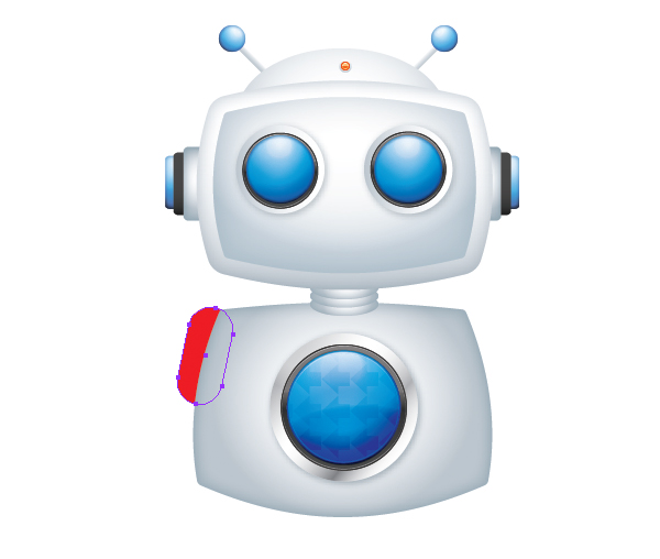 Create a Cool Robot Character in Illustrator 45