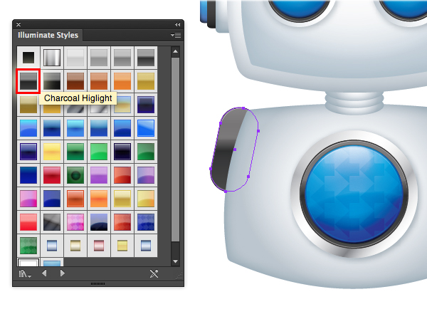 Create a Cool Robot Character in Illustrator 46