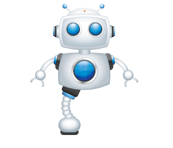 Create a Cool Robot Character in Illustrator 71