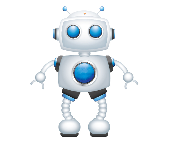 Create a Cool Robot Character in Illustrator 72