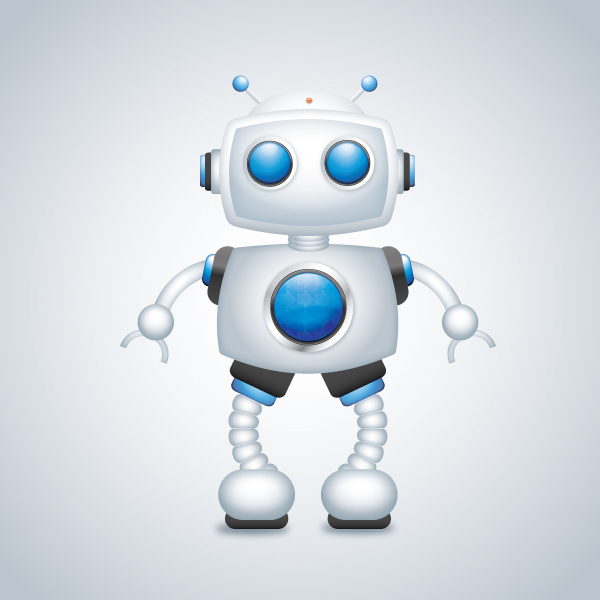 Create a Cool Robot Character in Illustrator
