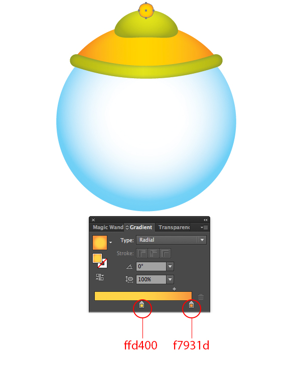 How to Draw Gumball Machine in Illustrator 34