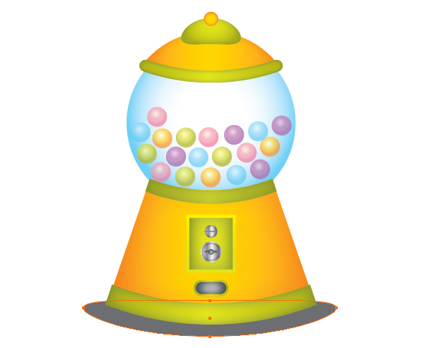 How to Draw Gumball Machine in Illustrator 42