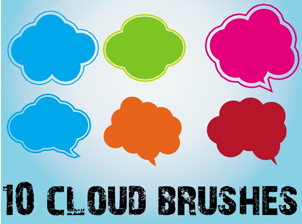 Scatter Cloud Brushes