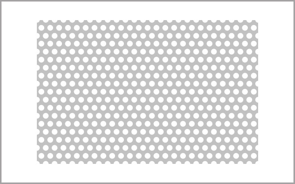 Seamless Vector Perforated Metal Pattern