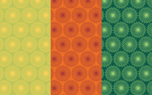 Vector Repeat Patterns - Retro Set 2
