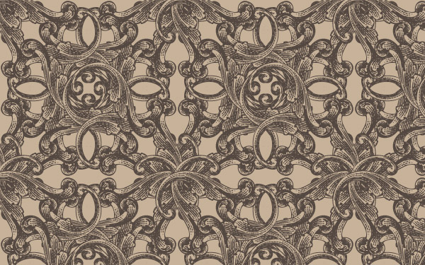 Vector Pattern - Antique Engraved