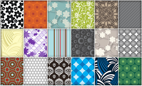 Beautiful & Useful Patterns and Swatches for Illustrator