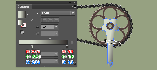 Create a Racing Bicycle in Adobe Illustrator 120