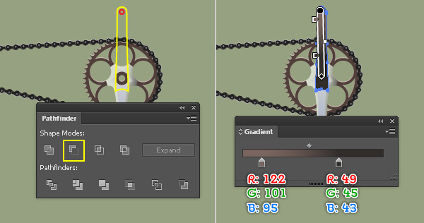 Create a Racing Bicycle in Adobe Illustrator 124