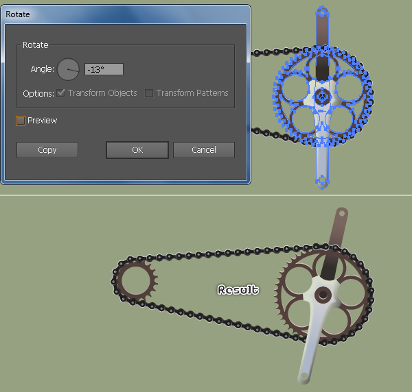Create a Racing Bicycle in Adobe Illustrator 125