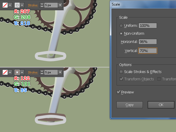 Create a Racing Bicycle in Adobe Illustrator 127