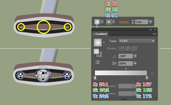 Create a Racing Bicycle in Adobe Illustrator 129