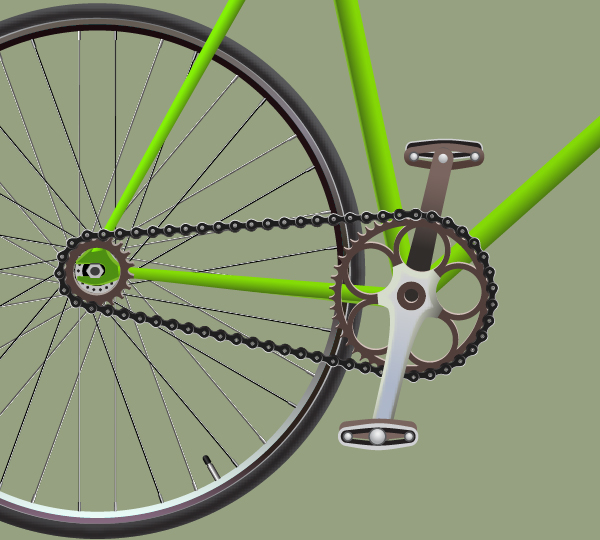 Create a Racing Bicycle in Adobe Illustrator 132