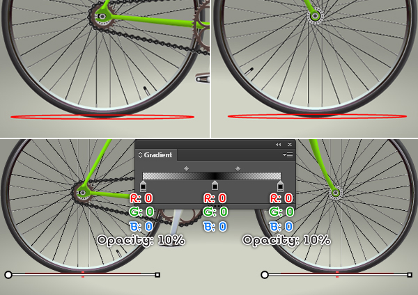 Create a Racing Bicycle in Adobe Illustrator 138