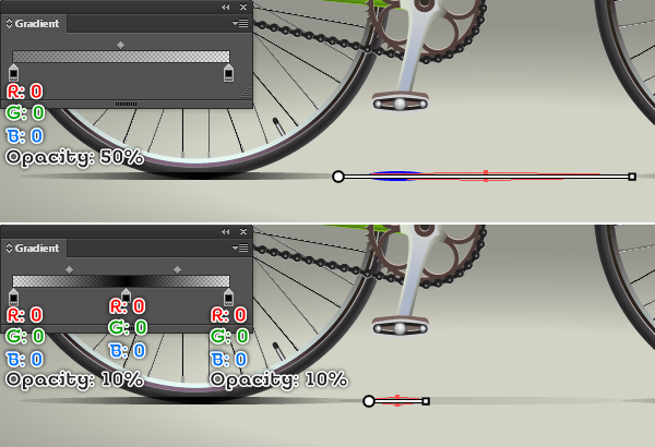 Create a Racing Bicycle in Adobe Illustrator 140