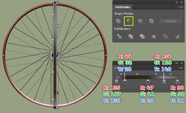 Create a Racing Bicycle in Adobe Illustrator 19
